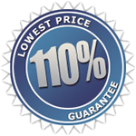 110% Low Price Guarantee
