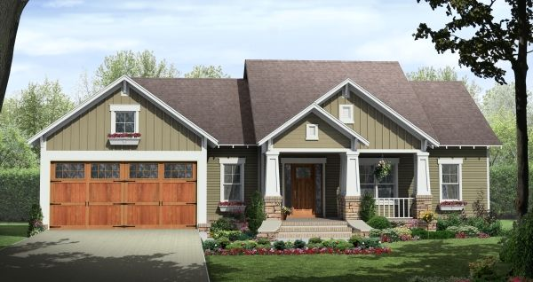 Craftsman House Plan HPG-1604C