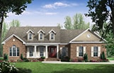 European French House Plan HPG-2000B-R