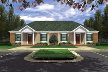 Triplex+house+plans+designs