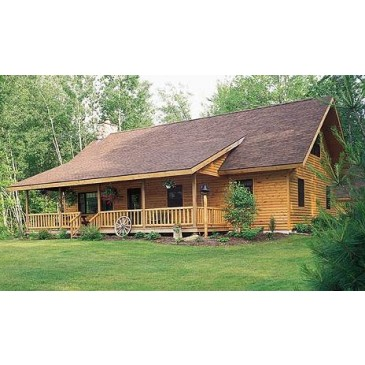 Log Home Plans at Dream Home Source | Log Home and Cabin Floor Plans