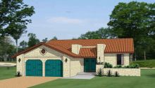 Pueblo Home Plans - Adobe and Santa Fe Style Home Designs from