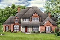 Plantation House Plans, Two Story Home Floor Plan