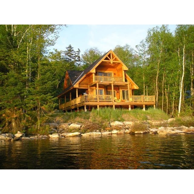 Log cabin house design pictures house furniture Log cabin style home plans