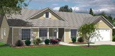 Ranch Style House Plan 1458-SLM 3 Bedroom 2 Bath