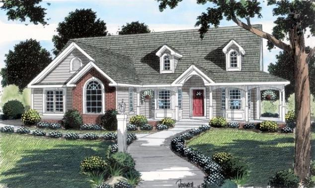 unique features of country home plans - Country Style House Plans