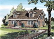 Cape Cod New England Style House Plan