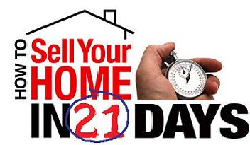 Sell Your Home in 21 Days
