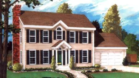 Unique Features Of Colonial Home Plans: Colonial Style House Plan