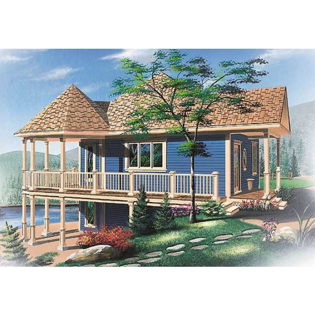 Beach and Coastal House PlansBeach House Plan