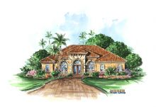 House Plans Mediterranean