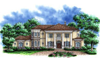 Colonial Style House Plan