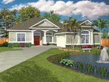 Hillside Sloping Lot House Plan