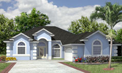 Ranch Style House Plan H1885A 4 Bedroom 2 Bath