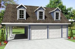HPG-0000-0728 Carport Garage