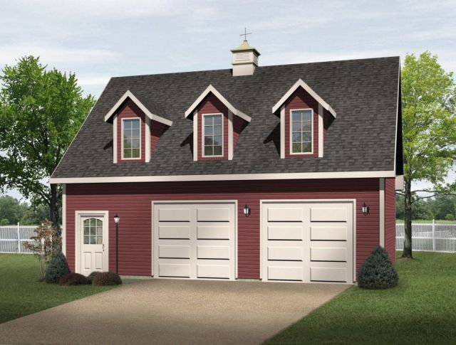 Garage Plans And Apartment