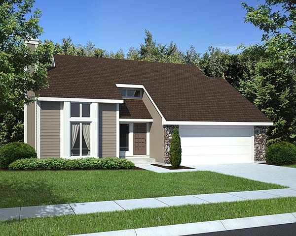 Contemporary style house plans for New contemporary style homes