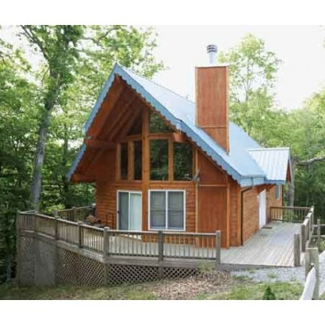 House Plan H 886 3 Cabin Vacation