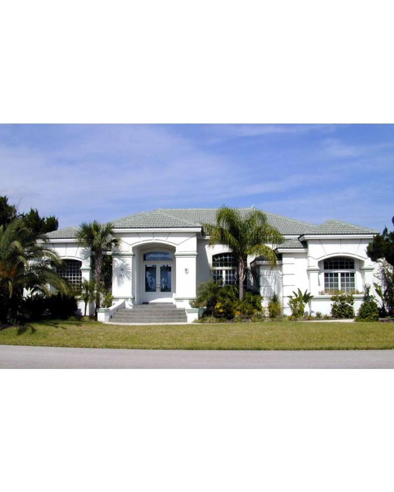 Contemporary Mediterranean Luxury Interior Designs: AmazingPlans.com House Plan H3146A
