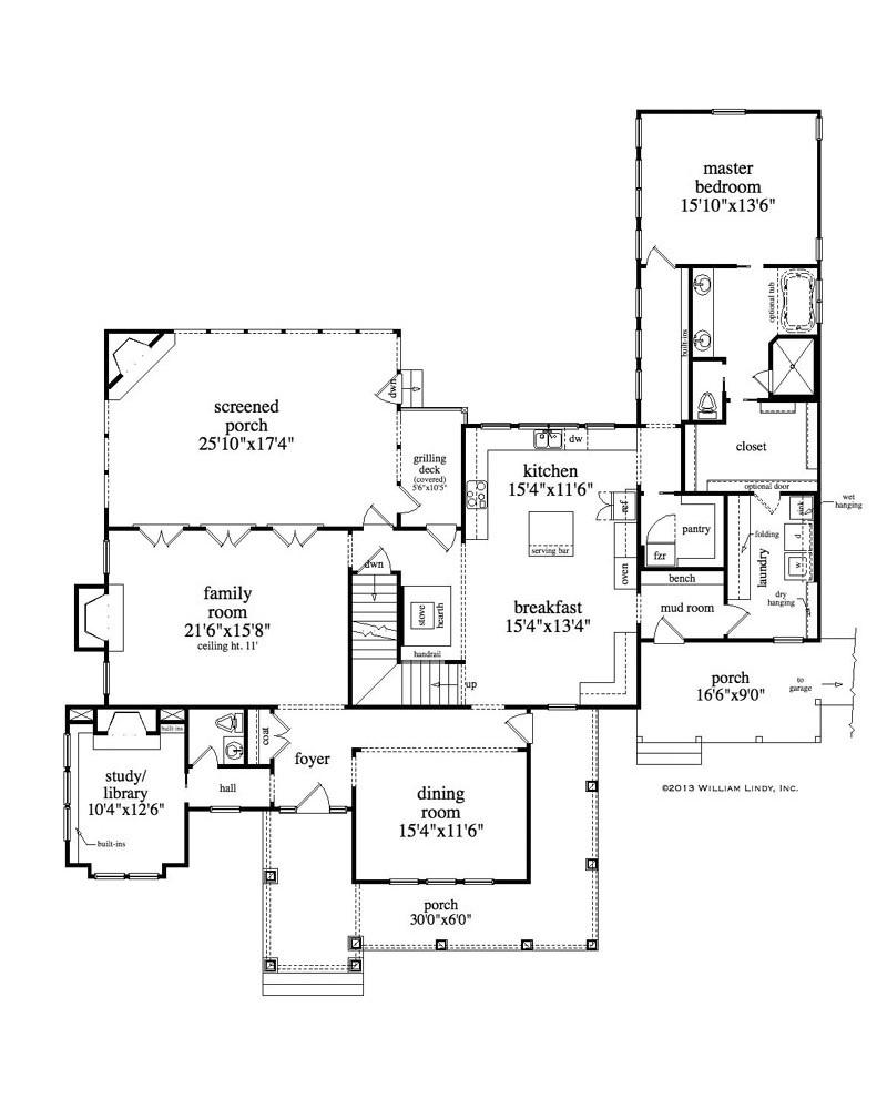 Hillside Plan With Garage Under 69131am: AmazingPlans.com House Plan #RLD-Stapleton