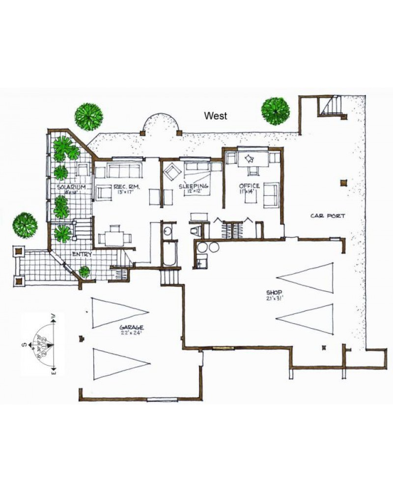 House plan 2747 rl contemporary for Amazing plans com