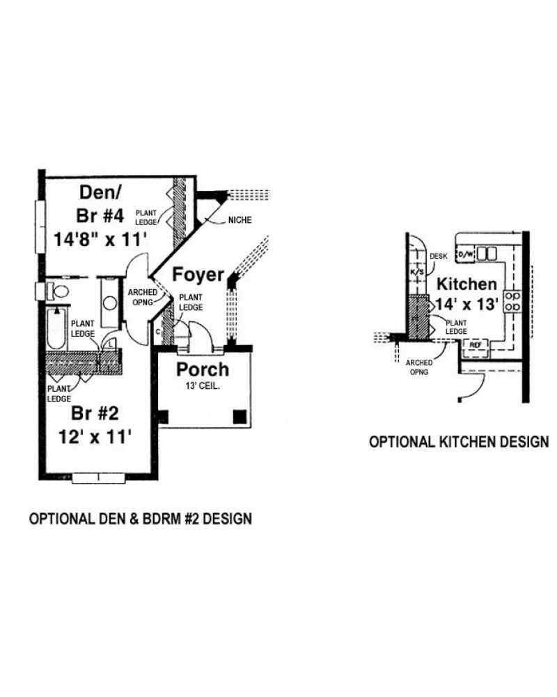 House plan h2699a spanish for Amazing plans com