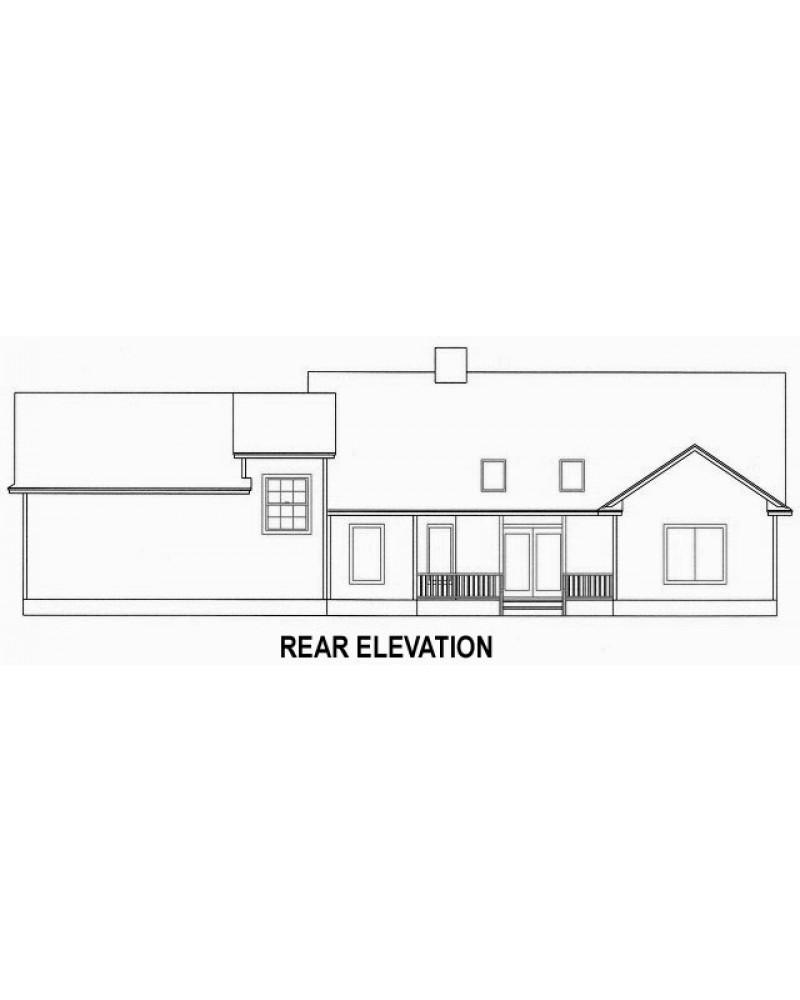 Amazingplans House Plan 1885C-SLM - Country House Plan Wrap-Around on