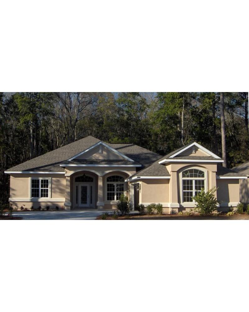 Picturesque Garage Apartment 43023pf: AmazingPlans.com House Plan #H1865A