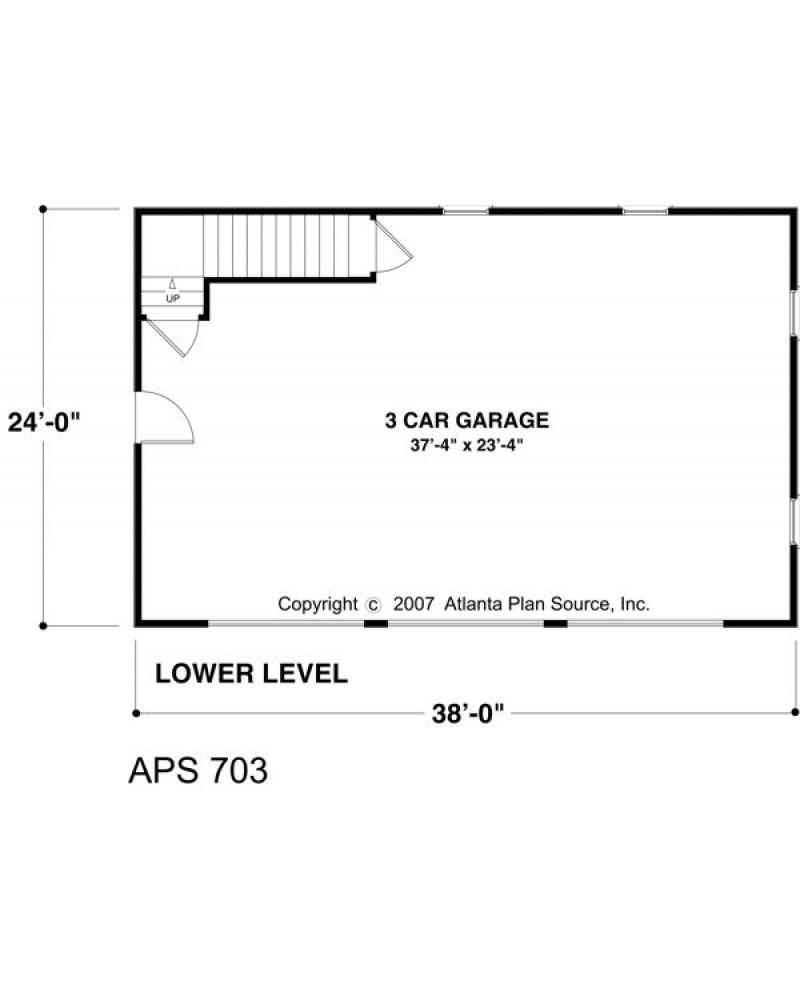 Amazingplans Com Garage Plan Aps0704: AmazingPlans.com Garage Plan #APS0703