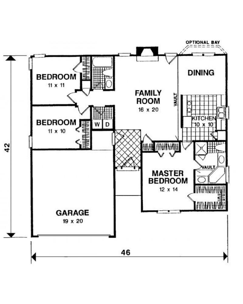Amazingplans Com Garage Plan Aps0704: AmazingPlans.com House Plan #APS1205