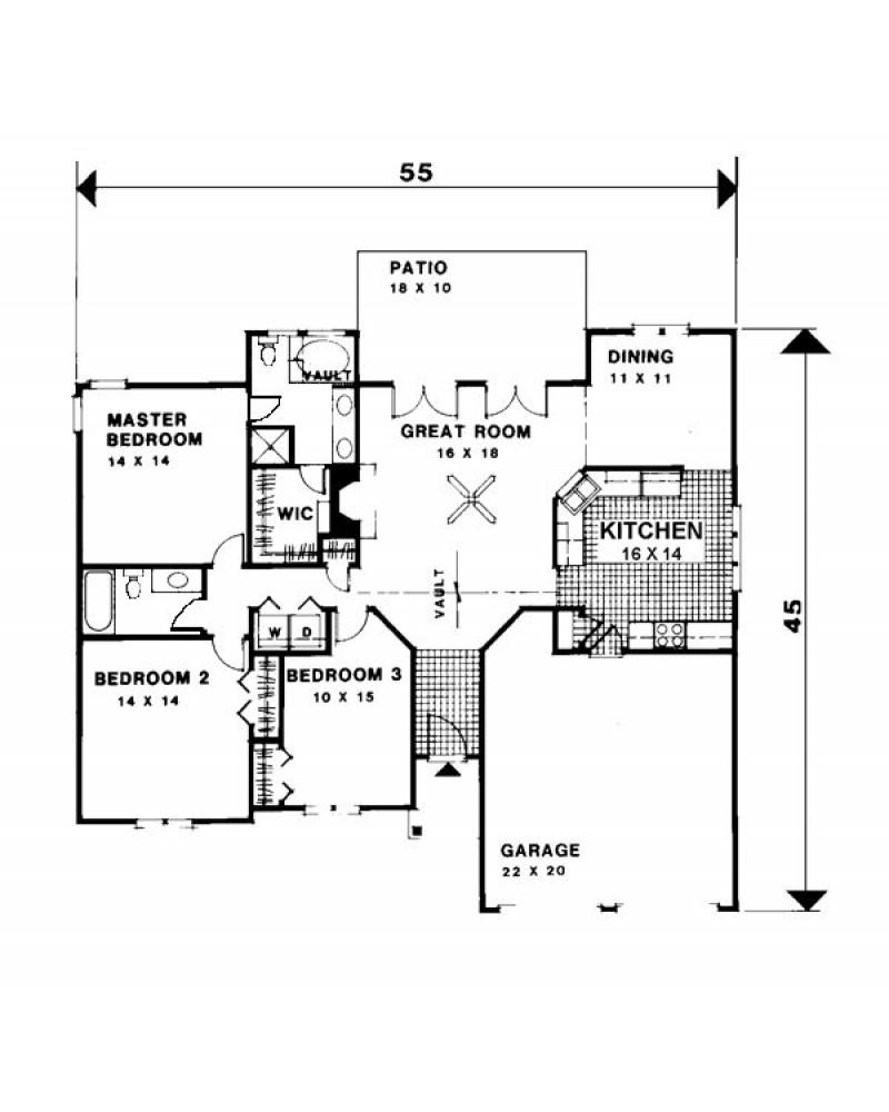 Amazingplans Com Garage Plan Aps0704: AmazingPlans.com House Plan #APS1505