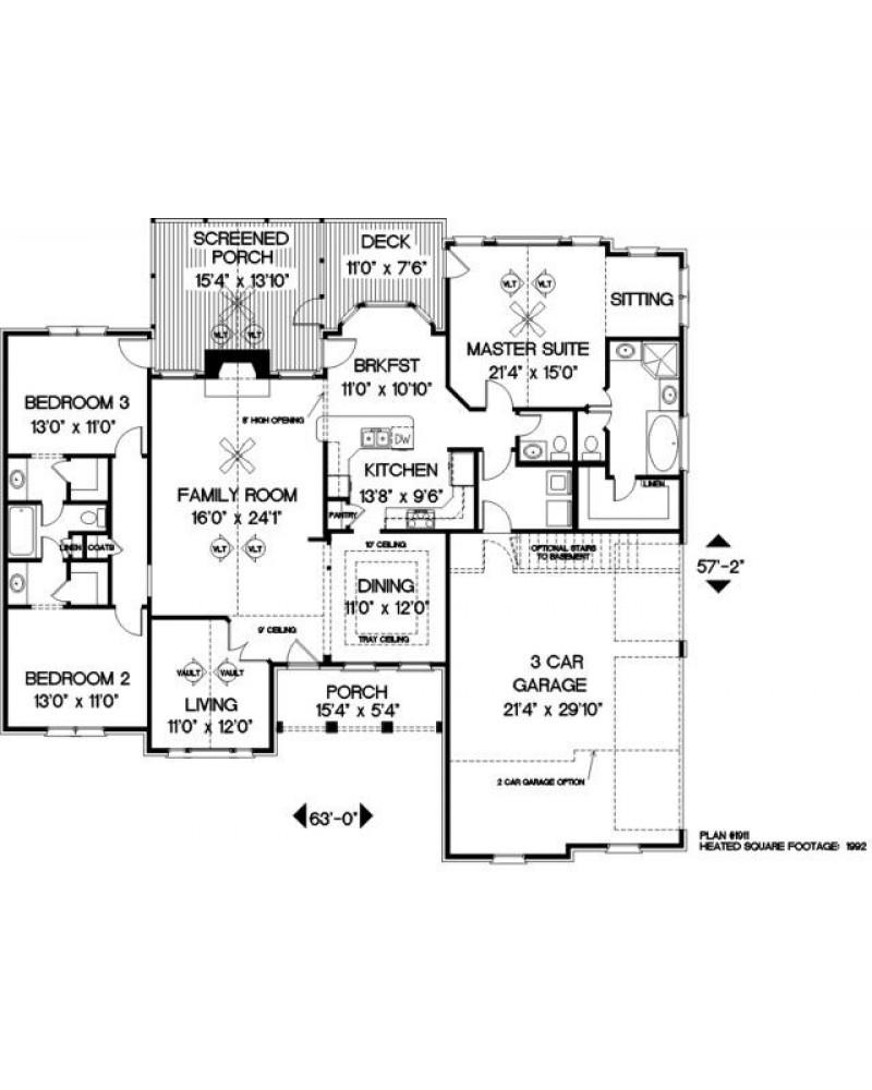 Amazingplans Com Garage Plan Aps0704: AmazingPlans.com House Plan #APS1911