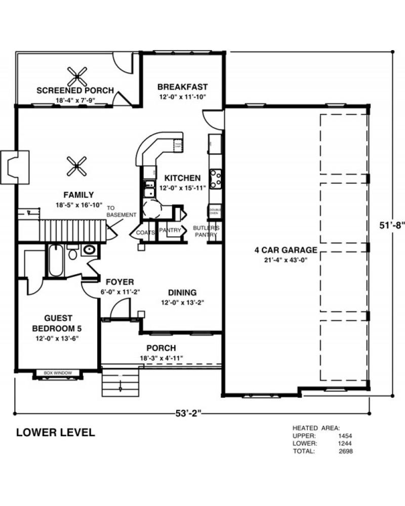 Amazingplans Com Garage Plan Aps0704: AmazingPlans.com House Plan #APS2608L