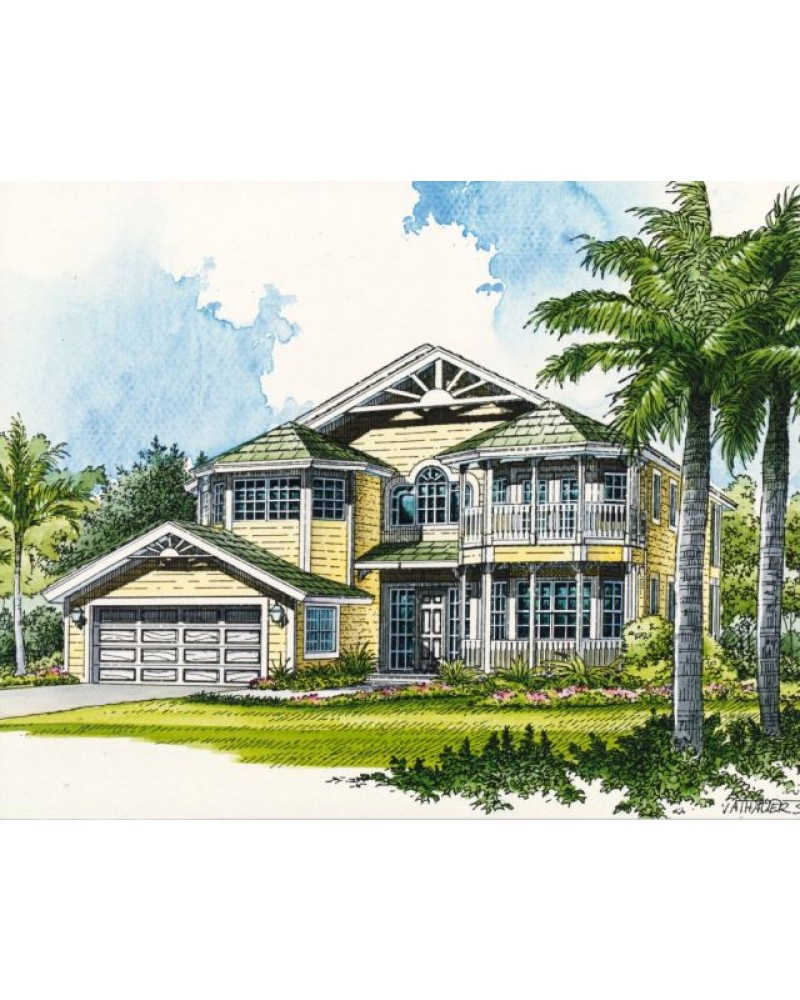 AmazingPlans.com House Plan #AR3323-9976 - Beach - Pilings ...