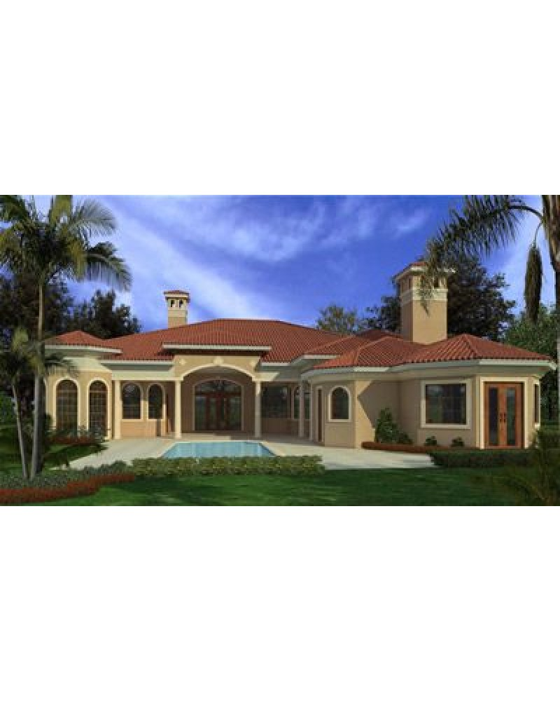 House plan ar6095 0602 spanish for Amazing plans com