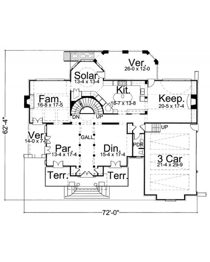 Amazingplans Com House Plan Arc Chiswick House