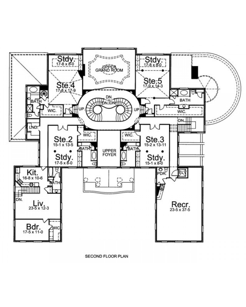 House plan arc fountainbleau luxury for Amazing plans com