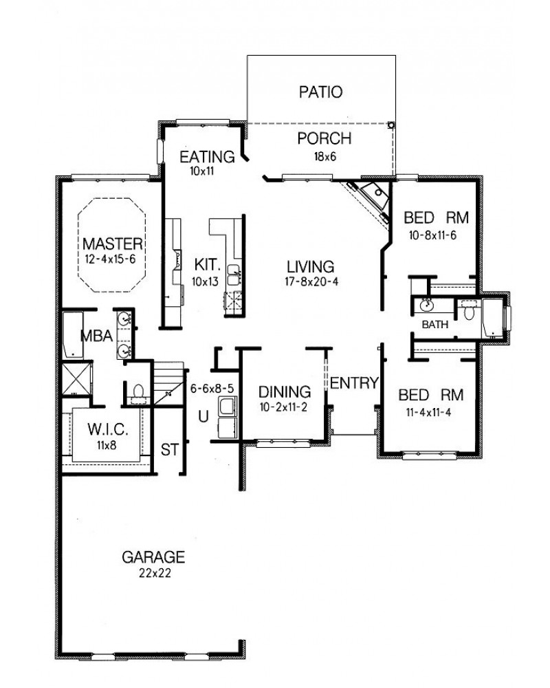 amazingplans com house plan bd18005 lc traditional