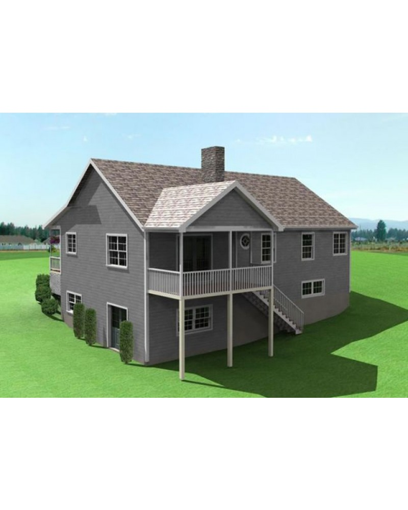 House plan dc442 country traditional for Amazing plans com