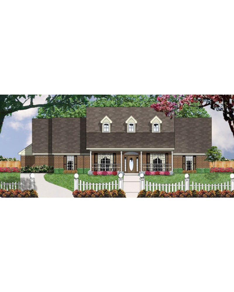 House plan dl2164 country farmhouse for Amazing plans com