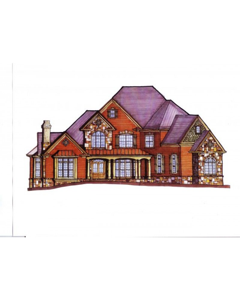 House plan dul serenity craftsman for Amazing plans com