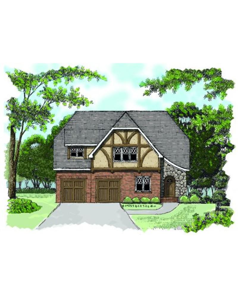 House plan edg2241 b country european for French tudor