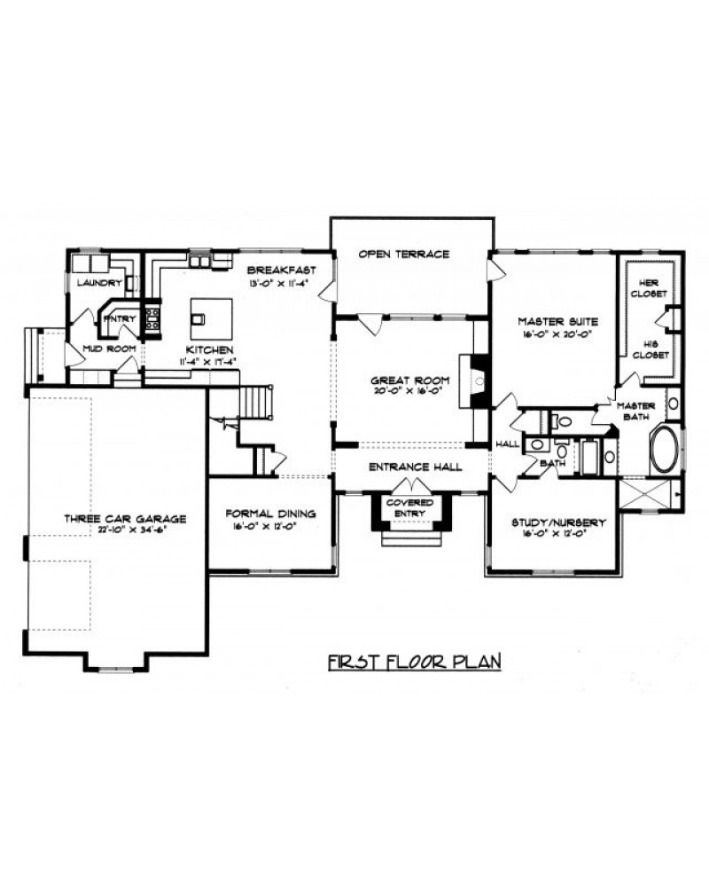 House plan edg4450 country european for French tudor house plans