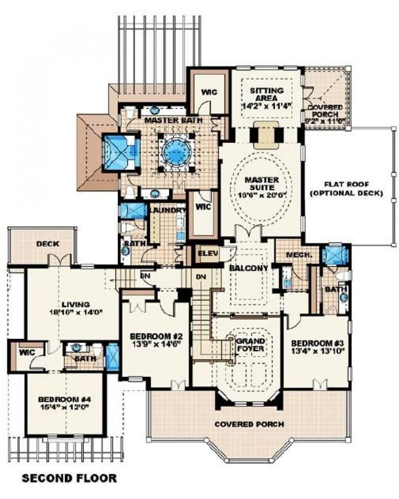 House Plan F2 5209 Savannah Colonial