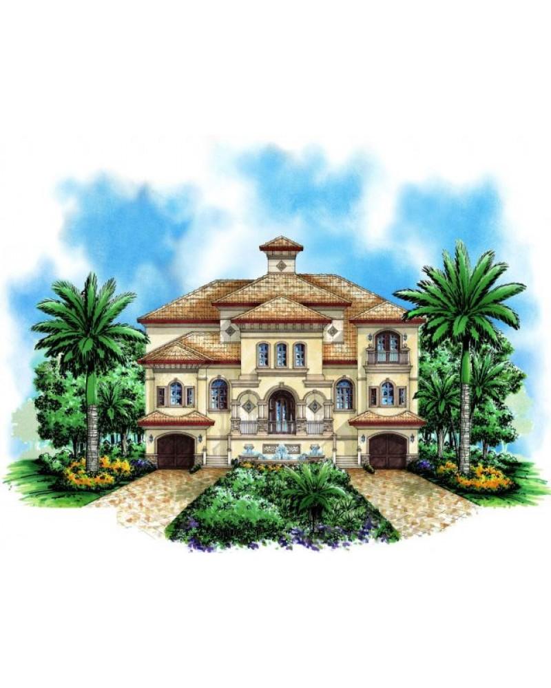 House Plan F3 4880 Casa Bella Iv Beach