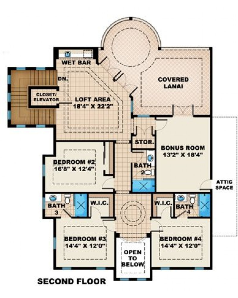 House plan g2 4256 sunset cove beach for Amazing plans com