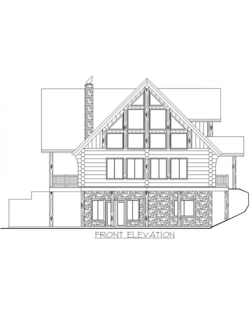 House Plan Ghd1014 Beach Pilings