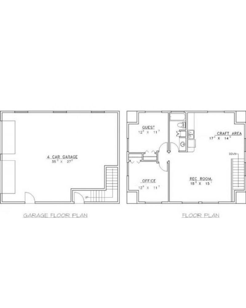 Amazingplans Com Garage Plan Rds2402 Garage Apartment: AmazingPlans.com Garage Plan #GHD4007 Garage Apartment