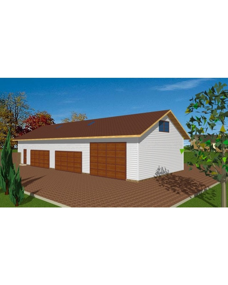 Amazing Garage Designs: AmazingPlans.com Garage Plan #GHD4009 Garage