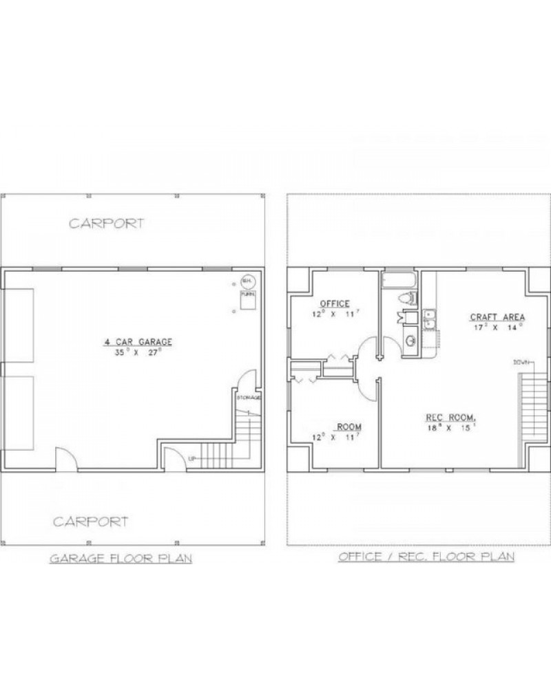 Amazingplans Com Garage Plan Rds2402 Garage Apartment: AmazingPlans.com Garage Plan #GHD4015
